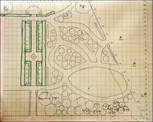 Plan - Mothers'Garden & new Old Rose garden