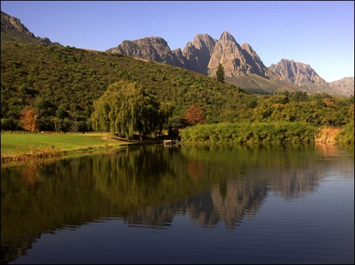 Jonkershoek mountains